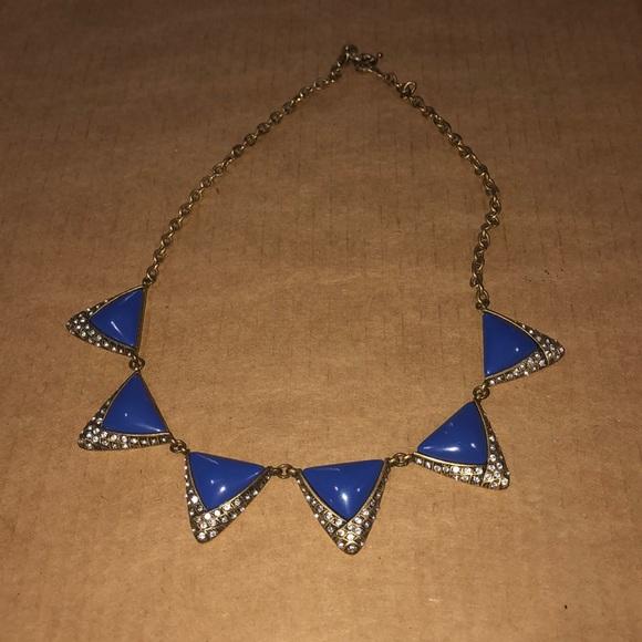 J. Crew Jcrew blue necklace